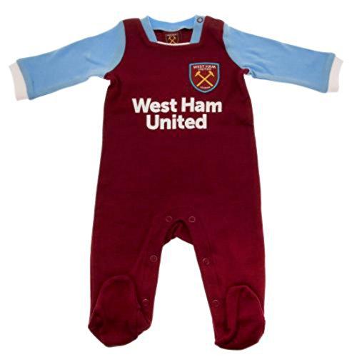 West Ham United Baby Sleepsuit - 2016/17 Seizoen (12-18 maanden)