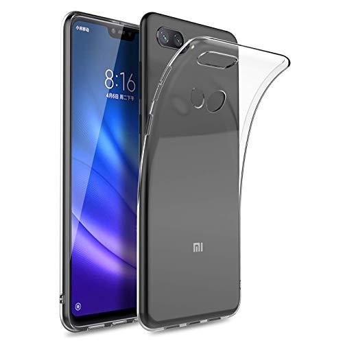 TBOC Funda de Gel TPU Transparente para Xiaomi Mi 8 Lite - Mi8 Lite (6.26
