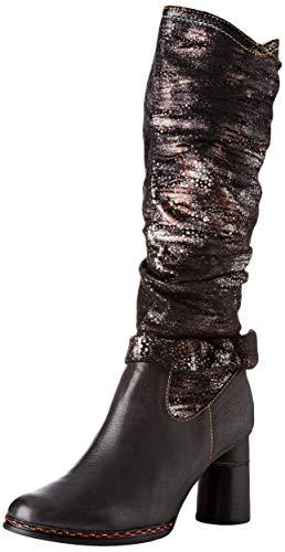 LAURA VITA Gucstoo 03 High Boots Femme, Noir (Black), 38 EU