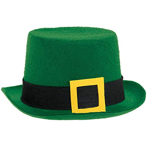 ADULTS ST PATS VALUE TOP HAT (RE-ORDERING: PACK OF 12)