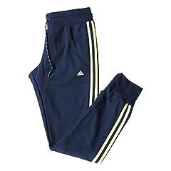 Adidas Pantalones de Running Azul Marino para Mujer