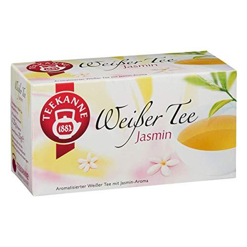 Teekanne Weißer Tee Jasmin 20 Beutel, 25 g Packung