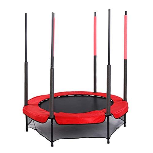 VORCOOL Ejercicio Trampolín Herramienta de Deportes al Aire Libre Niños Dispositivo de Ejercicios Deportes Juguete Exterior Juguete para niños Niñas Niños Outdoor Props (Rojo+)