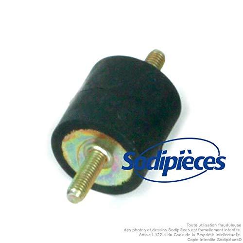 Isolateur oscillant 30 x 30-m6