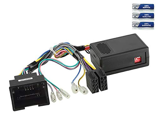 Lenkradfernbedienungs-Adapter geeignet für NANOX Autoradios, kompatibel mit Opel Adam | Astra | Corsa | Insignia | Mokka | Zafira-Tourer