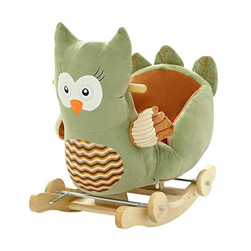 cute owl rocking toy