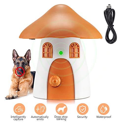 BO-sense Dispositivo Anti ladridos, Detector ultrasónico de ladridos para Perros, Dispositivo automático de detención de ladridos para Perros Que ladran con micrófono Interno