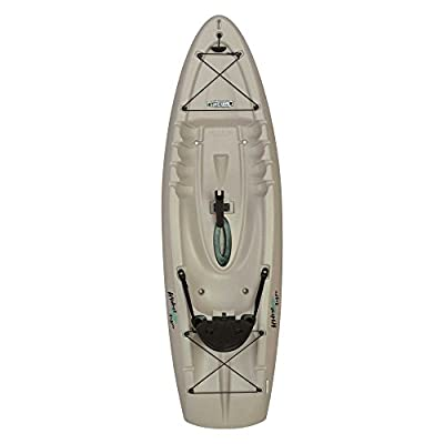 """90610 Lifetime Hydros Angler Kayak with Paddle, Sandstone, 101"""" by Lifetime OUTDOORS"""