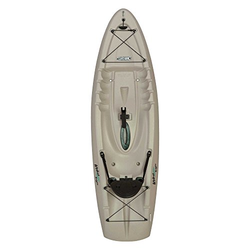 Lifetime Hydros Angler Kayak with Paddle, Sandstone, 101