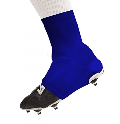 The Original Razur Spats Cleat Covers with Patented Debris Inhibitor (TDI) Technology   Perfect for Football Lacrosse Soccer and More!