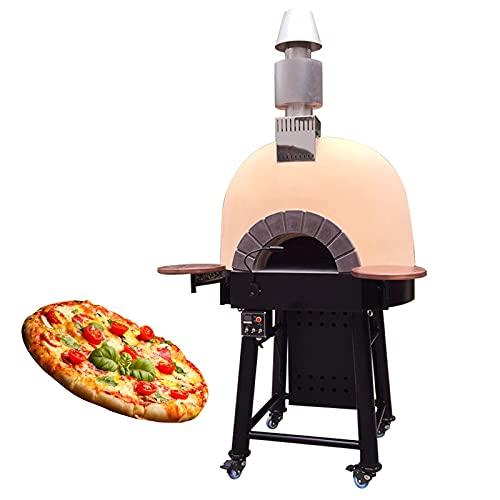 HXXXIN Horno De Piedra Volcánica Horno para Pizza Fruta Fuego De Leña Horno para Pizza A Gas Restaurante Occidental Patio Horno para Barbacoa Al Aire Libre Horno Grande para Hornear