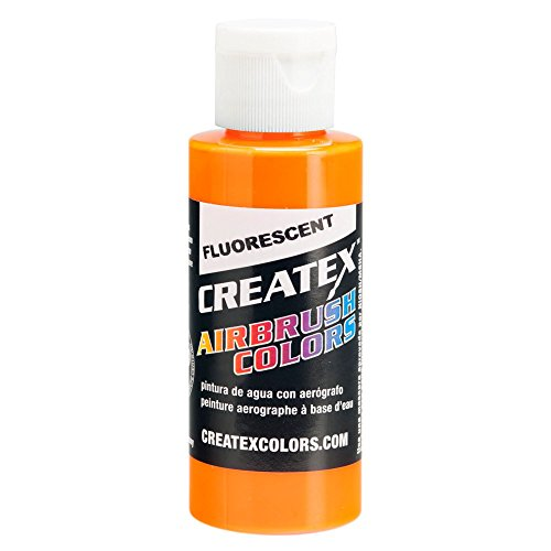 Airbrush Fluoroscent Paints Capacity: 4 Oz, Color: Sunburst by Createx