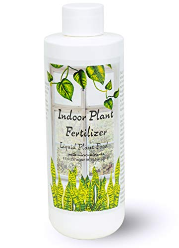 Indoor Plant Food | All-purpose House Plant Fertilizer | Liquid Common Houseplant Fertilizers for Potted Planting Soil | by Aquatic Arts