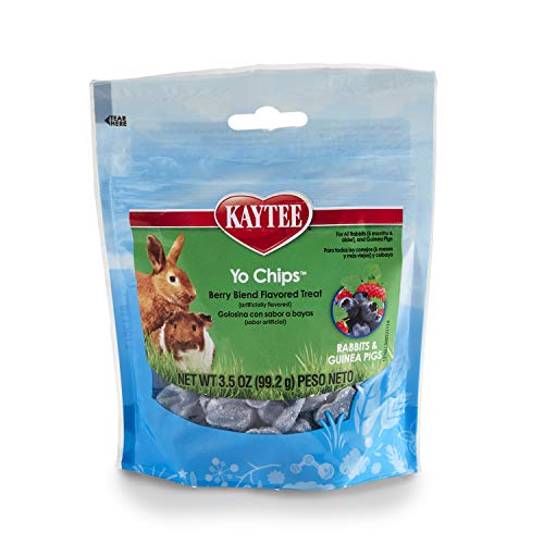 Kaytee Mixed Berry Flavor Yogurt Chips For Rabbit...