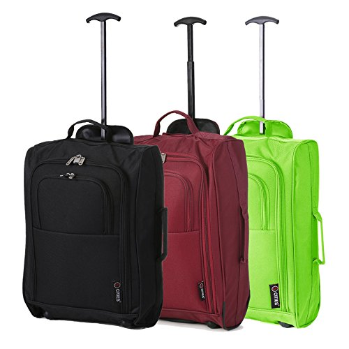 55X35X20 Ryanair Easyjet BA Jet 2 Cabine Bagages à main valise Carry On Case Sac