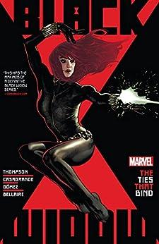 Black Widow by Kelly Thompson Vol. 1: The Ties That Bind (Black Widow (2020-)) by [Kelly Thompson, Elena Casagrande, Adam Hughes]
