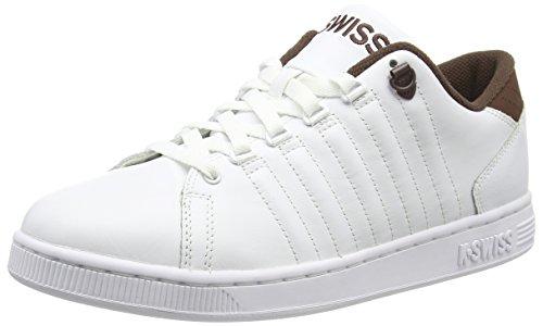 K-Swiss Herren Lozan Iii Sneakers, Weiß (White/Chestnut), 46 EU