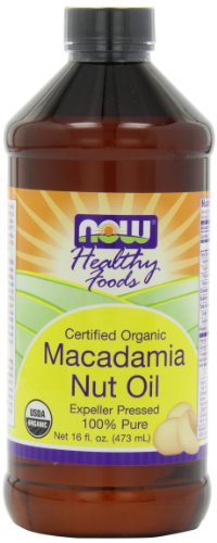 NOW Foods Organic Macadamia Oil, 16-Ounce