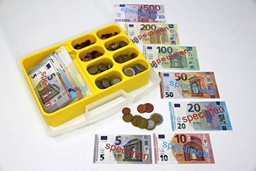 WISSNER aktiv lernen - Euro Spielgeld zum Rechnen 290 Teile