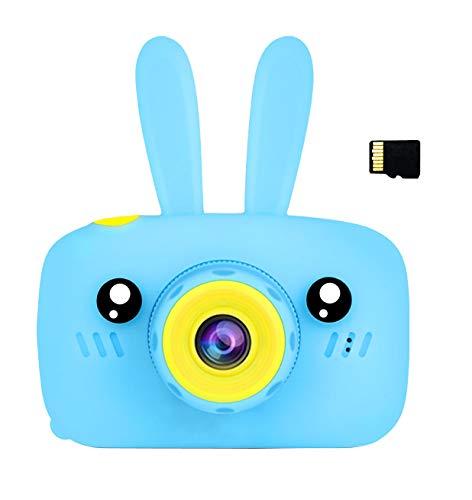 SoonerQuicker Cámara de Fotos para Niños Juguete Digital Cámara Infantil con 8 megapíxeles 1080 HD con 16G Tarjeta Micro SD Regalo Incluida