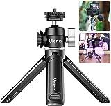 Trépied Vlog pour appareil photo compact ULANZI U-Vlog, mini adaptateur de chaussure chaude à tête sphérique avec support de lumière pour micro sabot froid Poignée légère pour appareil photo reflex numérique Gopro / DJI Osmo Action / Pocket / Sony / Canon / Nikon