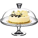 Plato de Carne Mesa de Postre Premium, Recipiente de Almacenamiento de Frutas para el hogar, Juego de cristalería y Bandeja de repostería, Plato de Ensalada (tamaño: 32 * 32 * 25,8 cm)