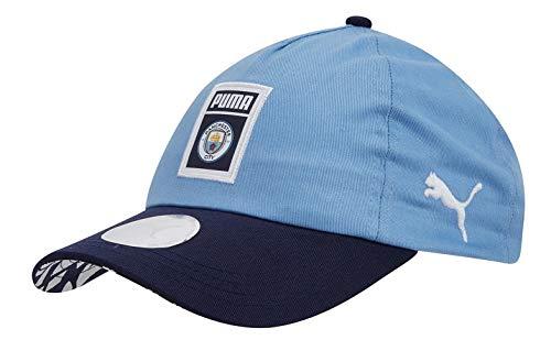 PUMA Manchester City DNA Fan Cap (OSFA) Team Light Blue-White
