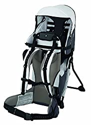6b0ba242366 Parents who want to take their baby into the great outdoors may want to  consider this lightweight backpack carrier that can hold children up to  40-pounds.