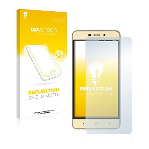 upscreen Entspiegelungs-Schutzfolie kompatibel mit ZTE Blade A452 – Anti-Reflex Bildschirmschutz-Folie Matt