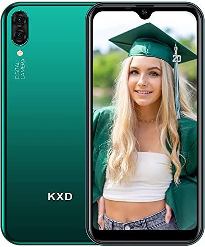 Smartphone Economici Offerta KXD A1 Cellulare Android Dual SIM Telecamere Tre Slot Per Schede 16GB ROM 128GB Espandibili 5,71   Waterdrop Schermo Cellulari Offerte - Verde