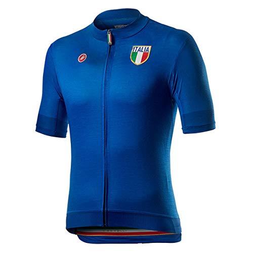 castelli 20, Maglietta Uomo, Azzurro Italia, L