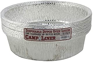 Campliner Dutch Oven Liners, 12 Pack of 14