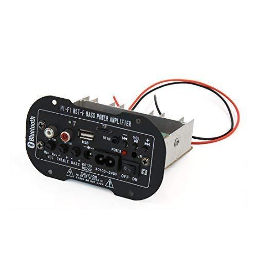HYY-YY DC 12V 24V Hi-fi Bluetooth Audio Stereo Power Digital Amplifier Board for Car