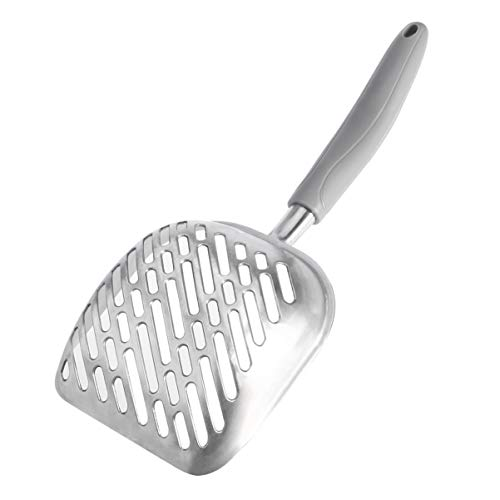 UEETEK Dog Cat Litter Scoop,Sifter with Deep Shovel,Durable Aluminum Metal Cat...