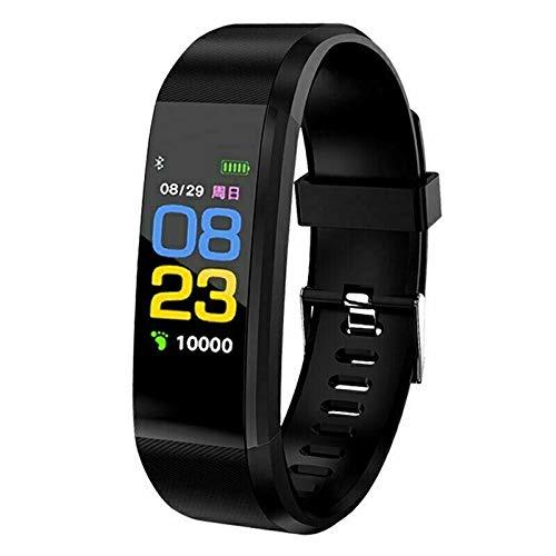 True Face Smart Watch Bracelet Health Monitor Wristband Fitness Heart Rate Temp BP Pulse