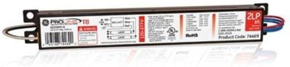 1 NEW GE 74466 GE432MV-L 120//277 Multi-Volt 4-LAMP ProLine Electronic Ballast