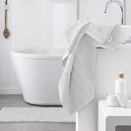dkdo Serviette de Toilette - 500 GR/m² - 50 x 90 cm - Today - Chantilly