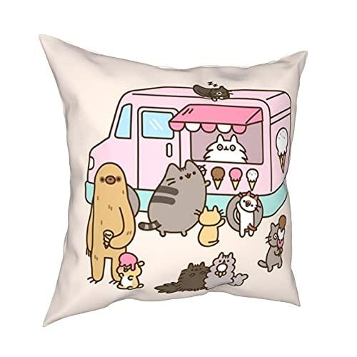 Federe per cuscino Ice Push_Een, cuscino decorativo per la casa con cerniera, per lettino e divano auto