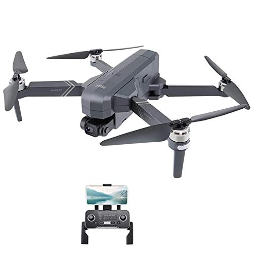 OYZK Drone Professional 4K HD Cámara Gimbal Dron sin escobillas 5G WiFi Sistema GPS Admite 64g TF Card RC Quadcopter (Color : F11 3B with Bag)