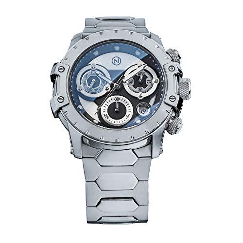 NOVE Modena Chronograph Swiss Made Relojes de cuarzo para hombres y mujeres