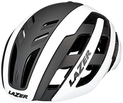 Lazer Unisex– Erwachsene Century Fahrradhelm, White-Black, S | 52-56cm