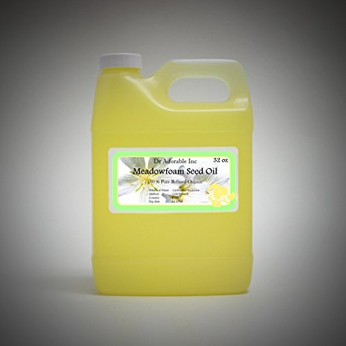 Aceite de Semillas de Meadowfoam orgánicos 32 oz/1 Quart