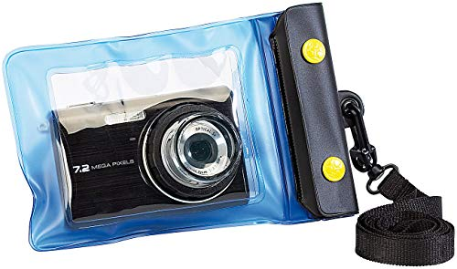 Somikon Unterwasserhülle: Unterwasser-Kameratasche XS mit Objektivführung Ø 30 mm (Unterwasser-Kamerahüllen)