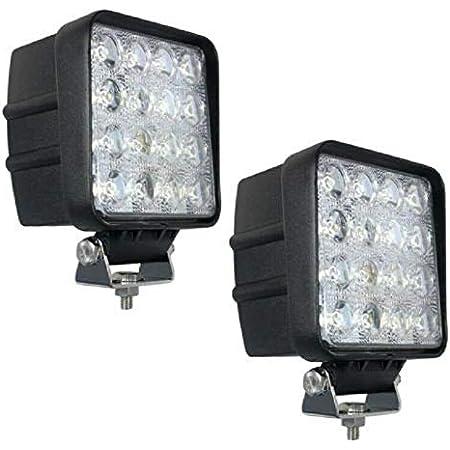 48W LED Arbeitscheinwerfer Flutlicht Nebel Lampe Strahler für LKW SUV 12V
