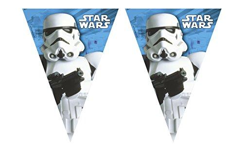 Folat B.V. Guirlanda banderines Stormtrooper Star Wars? - Única