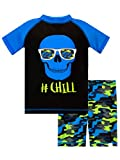 Harry Bear Boys Skull Swim Set Black Age 6 to 7 Years