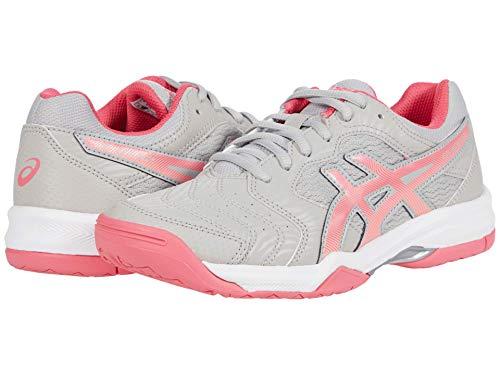 ASICS Women's Gel-Dedicate 6, Grey/Pink, 9 Medium