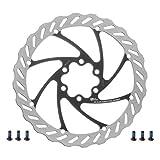 Miles Racing ® Disco de freno para bicicleta, inoxidable, 203 mm