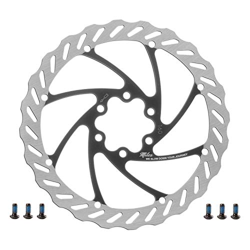 Miles Racing ® Fahrrad Bremsscheibe | rostfrei | 203mm