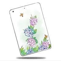 Sepikey iPad Pro 11 2018/iPad Pro タブレットケース,スリム ハード 防塵 クリア 耐衝撃性 キズ防止 耐久性 TPUゲルシリコーン クリア スリム 軽量 スマートカバー iPad Pro 11 2018/iPad Pro Case-フラワー7